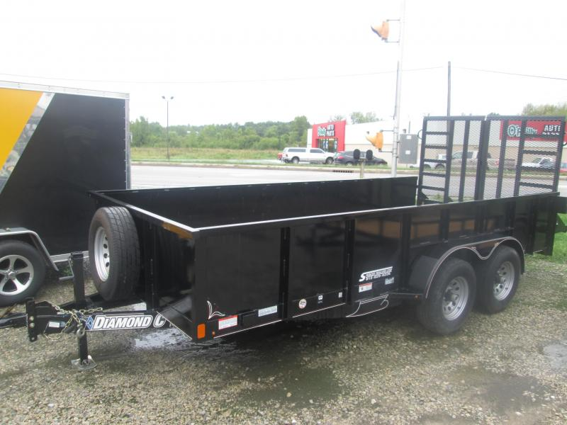 2017 16x82 Diamond C Trailers Utility Trailer 14TUT Model