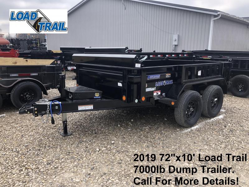 "2019 72""x10' 7K Load Trail Dump Trailer. 82152"