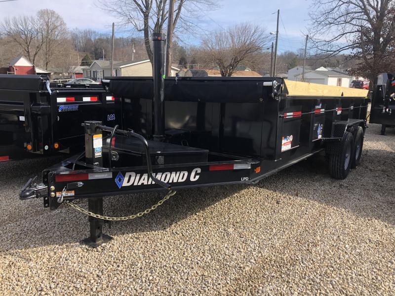 2019 16x82 14.9K Diamond C Dump Trailer. 10083