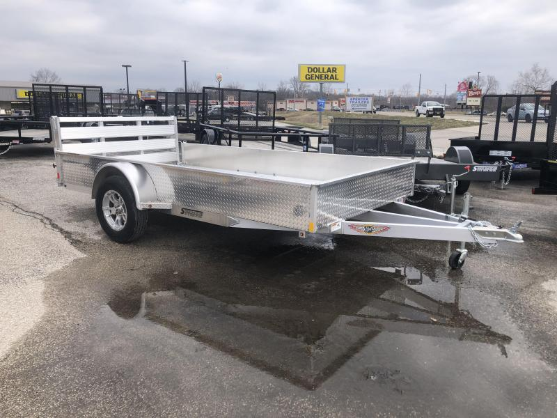 2019 8x12 H and H Utility Trailer. 19205