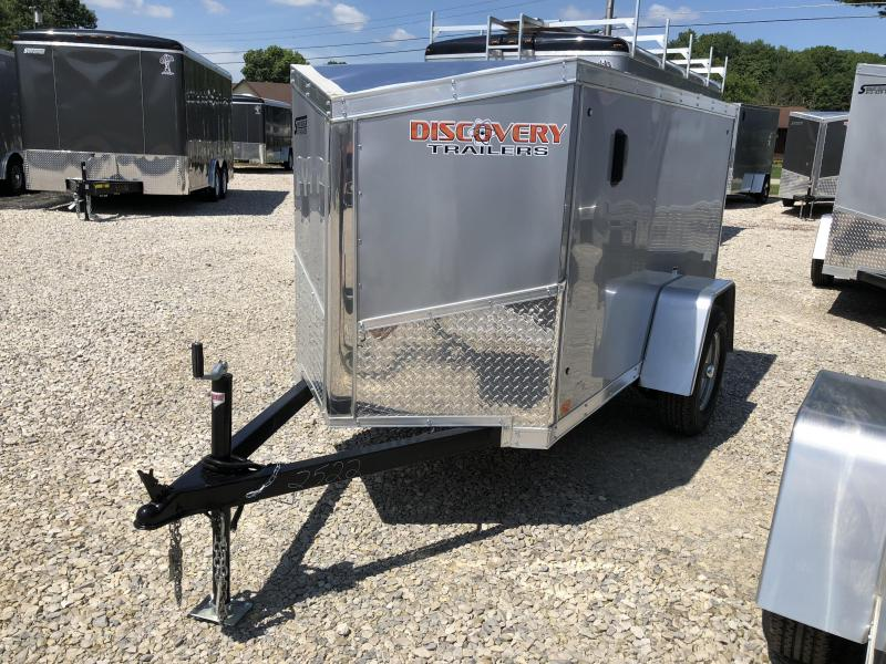 2019 4'x8' Discovery Enclosed Cargo Trailer. 2522