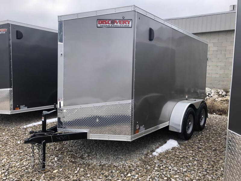 2019 6x12 7K Discovery Enclosed Trailer. 4207