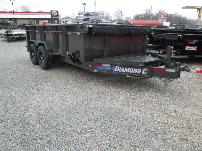 2019 14x82 Diamond C Dump Trailer. 10307