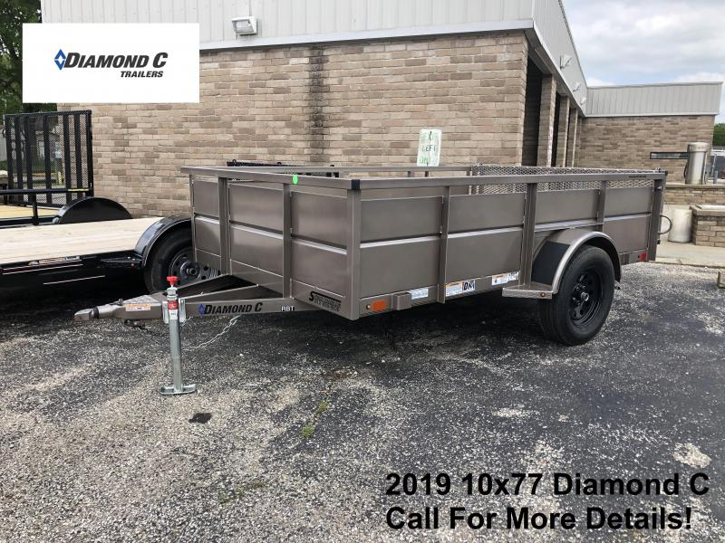 2019 10x77 Diamond C Utility Trailer. 14402