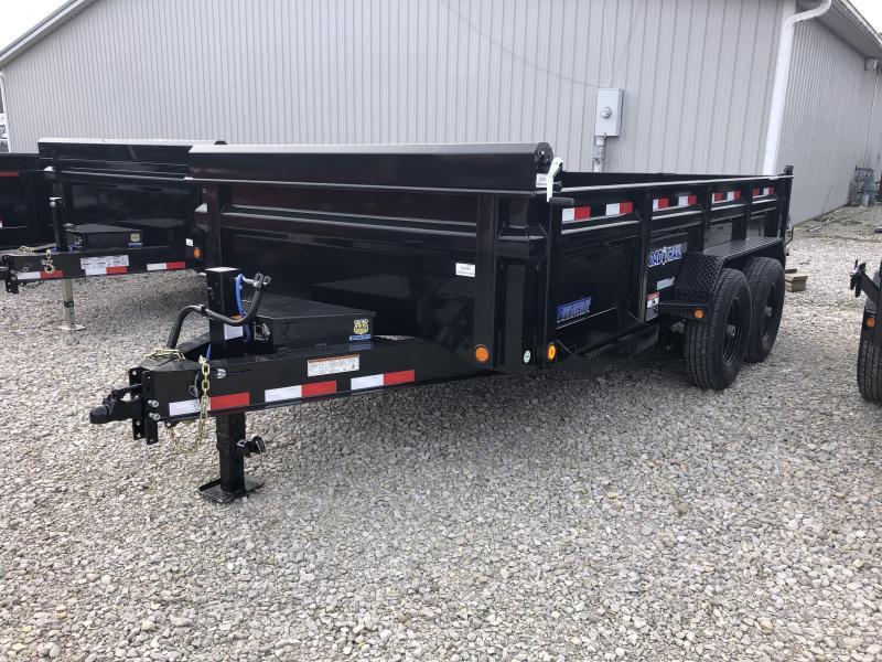 "2018 83""x14' 14K Load Trail Dump Trailer. 80083"