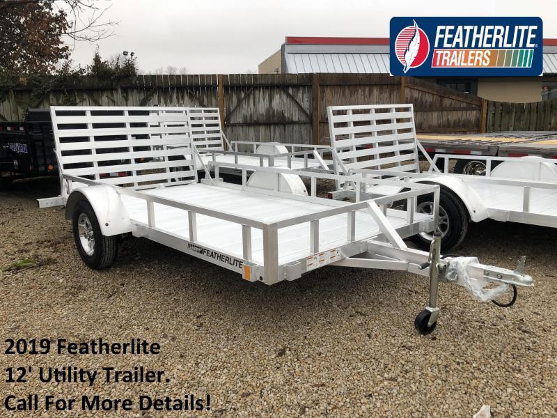 2019 12' Featherlite Utility Trailer. 150617