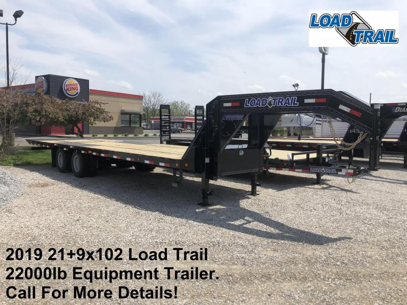 2019 21+9x102 22K Load Trail Equipment Trailer. 86278