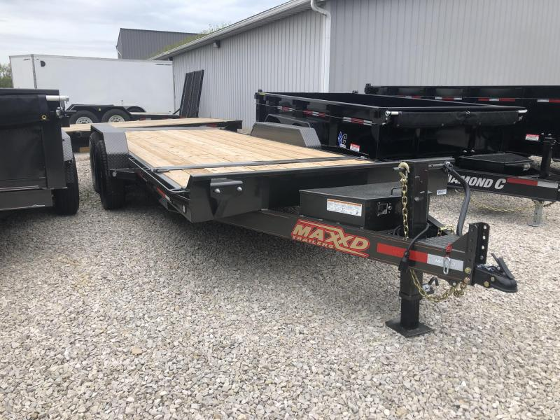 2019 16'+4' 14k MAXXD Gravity Tilt Equipment Trailer. 65972