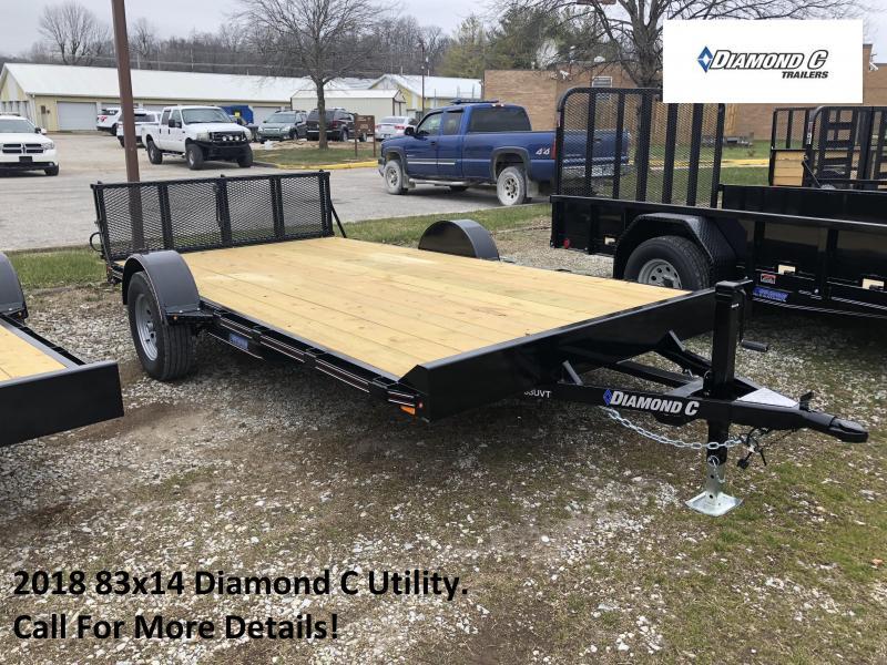 2018 83x14 Diamond C Utility. 96067