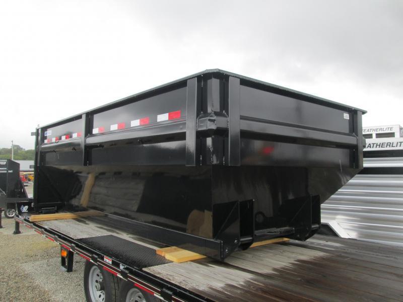 2018 Load Trail 83x14 Drop-N-Go Roll off Dump Box. 63910