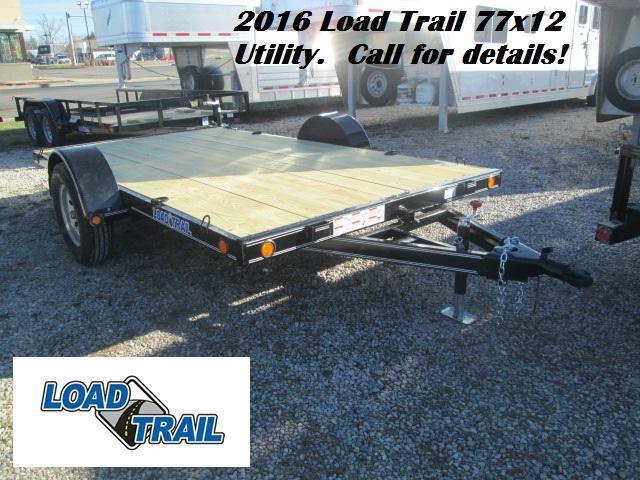 2016 77x12 Load Trail Single Axle Utility. 02411
