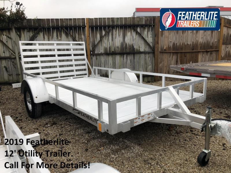 2019 12' Featherlite Utility Trailer. 150615