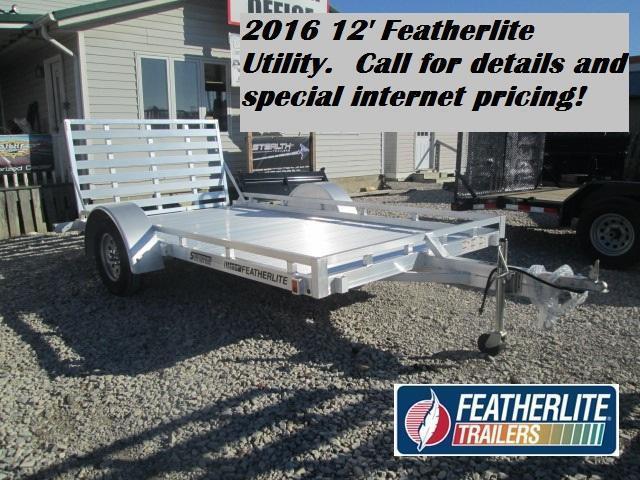 2016 1693 12' Featherlite Utility. 142077