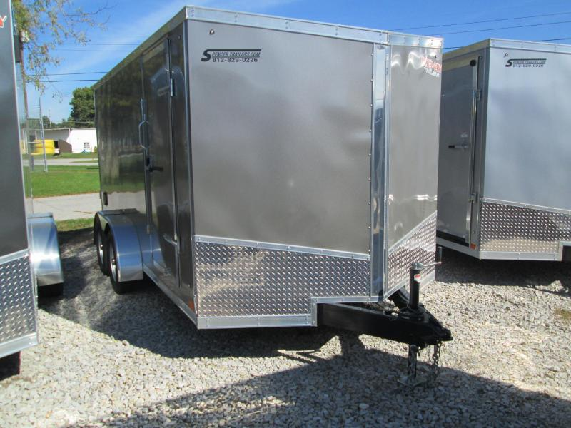 2019 7'x14' 7K Discovery Enclosed Trailer. 3128