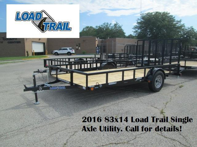 2016 83x14 Load Trail Single Axle Utility. 16779
