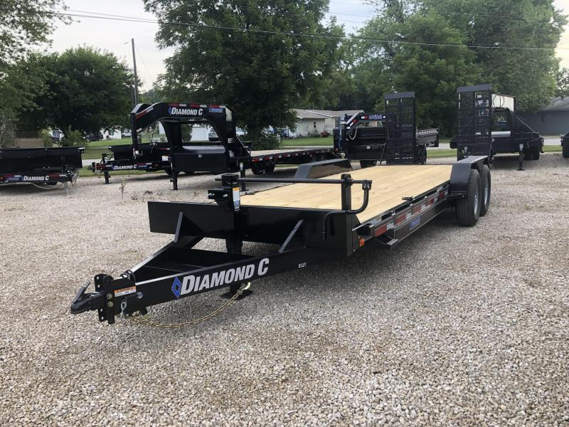 2019 20+2 Diamond C Trailers EQT207 Equipment Trailer