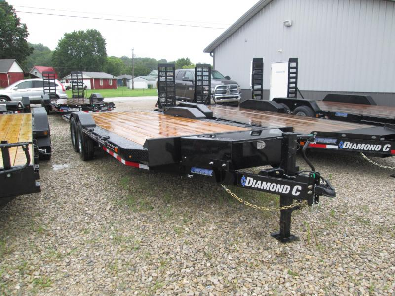 "2019 22'x102"" 14.9K Diamond C Tilt Equipment Trailer. 16552"