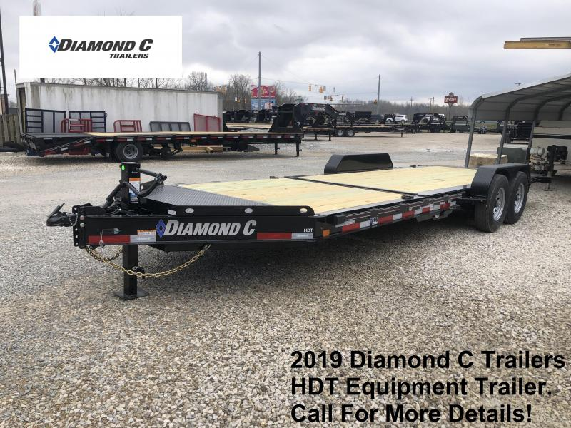 2019 Diamond C Trailers HDT Equipment Trailer. 12734