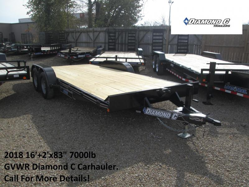 2018 16+2 7k Diamond C Carhauler. 94850
