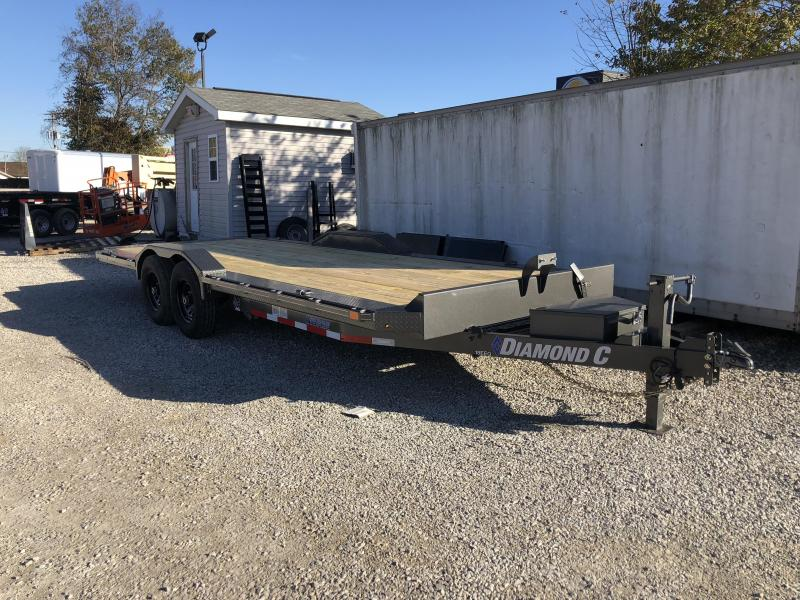 2019 22x102 14.9K Diamond C Equipment Trailer. 6782
