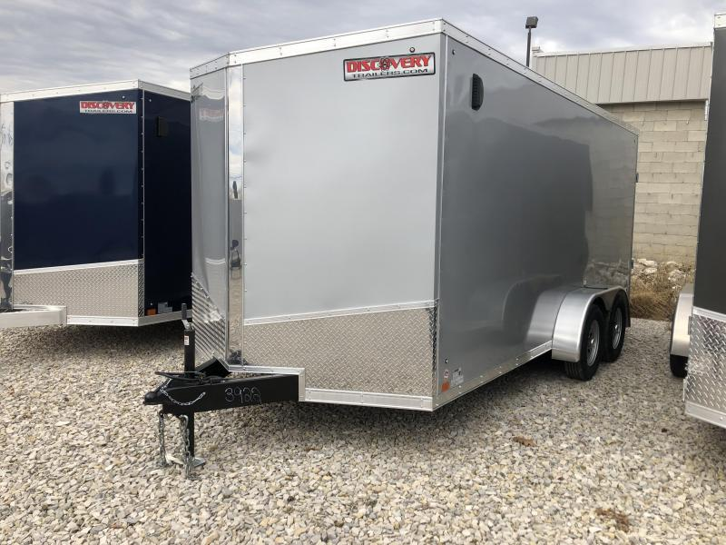 2019 7'x16' 7k Discovery Enclosed. 03922
