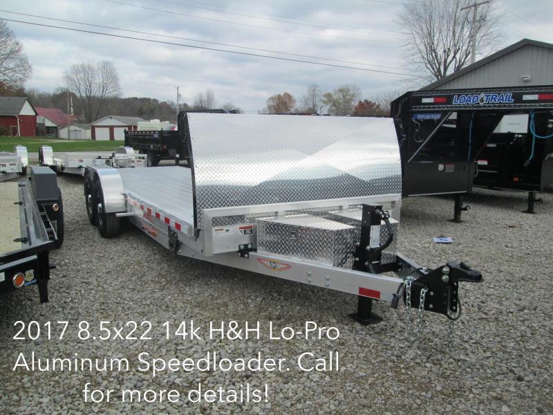 2017 8.5x22 14k H&H Lo-Pro All Aluminum Speedloader with fairing. 76417
