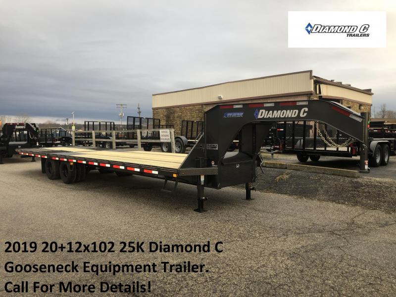 2019 20+12x102 25K Diamond C GN Engineered Beam Equipment Trailer. 10304