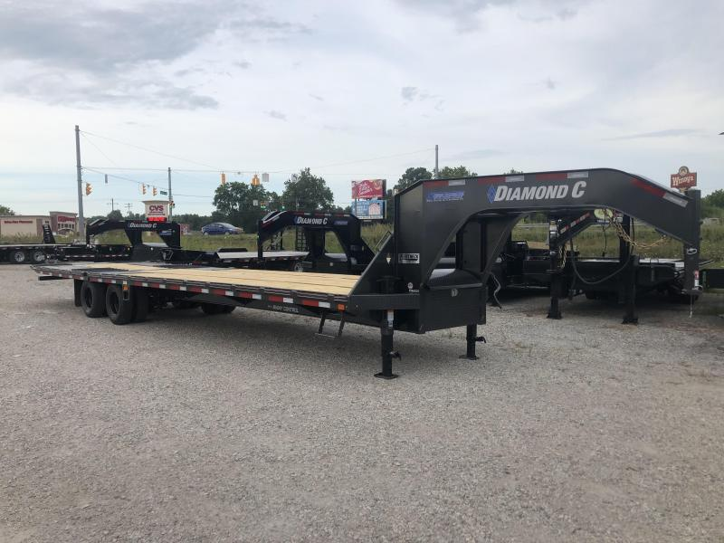 2019 35x102 Diamond C Trailers FMAX210 Equipment Trailer