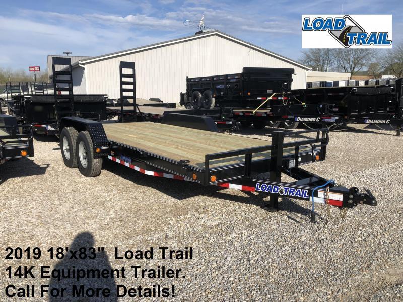 "2019 18'x83""  14K Load Trail Equipment Trailer. 86693"