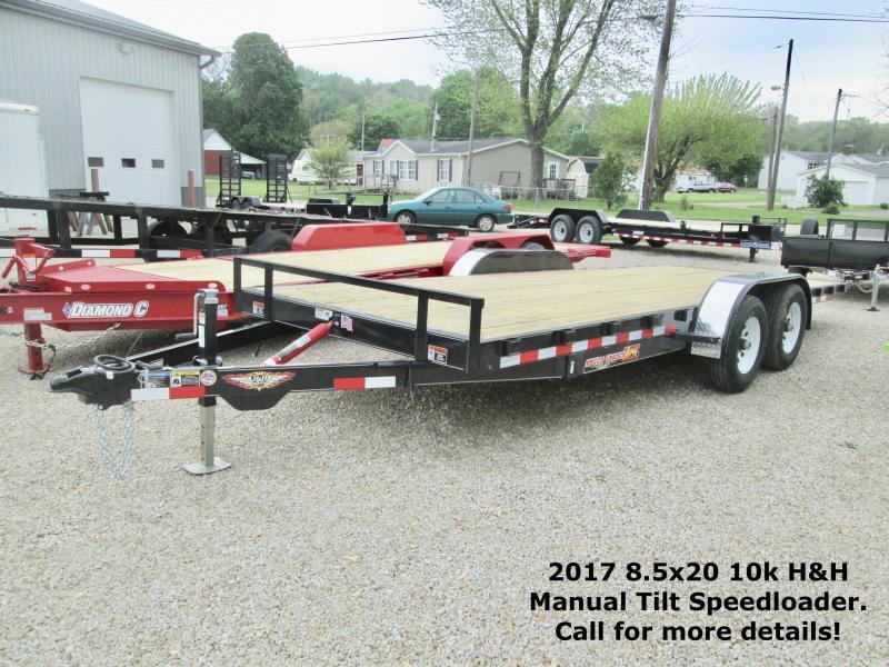 2017 8.5x20 10k Manual Tilt H&H Speedloader. 72277