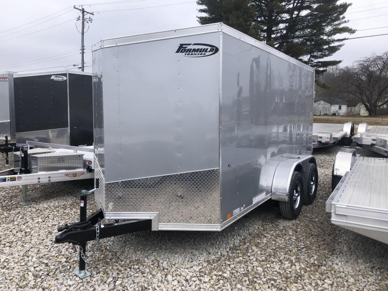 2020 6x12 7K Formula Enclosed Trailer. 00984