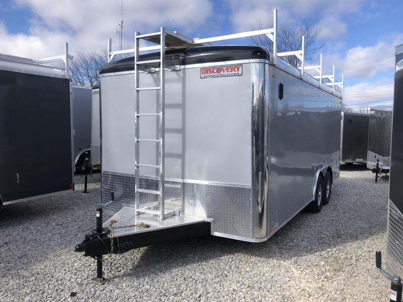 2019 8.5x18 10K Discovery Enclosed Trailer. 4099
