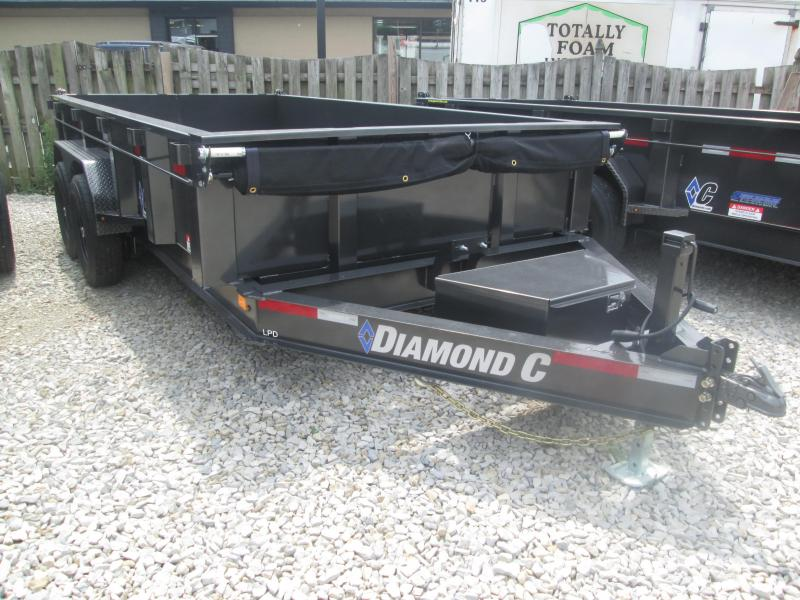 2019 Diamond C Trailers LPD207 Dump Trailer