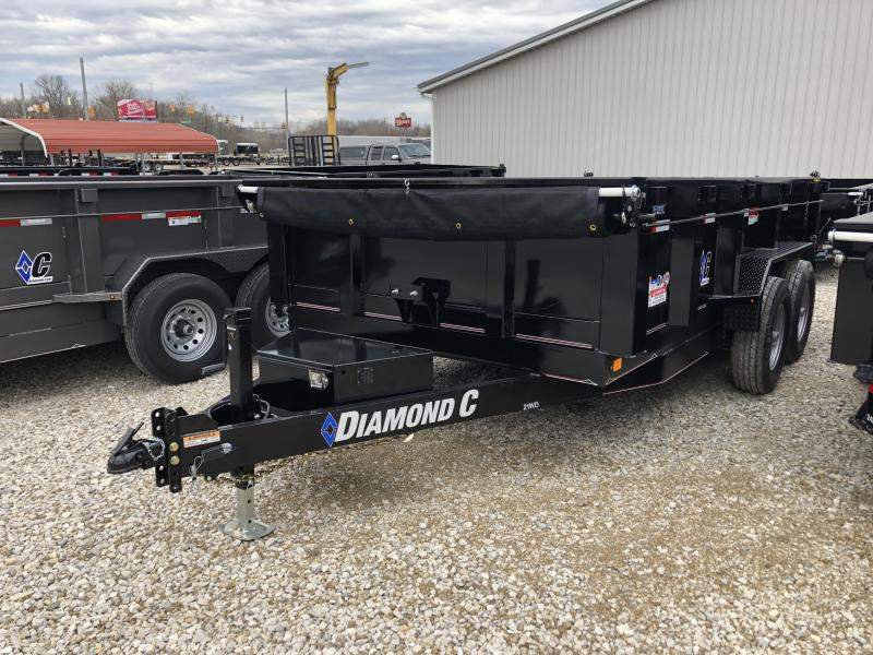 2019 14x82 14K Diamond C Dump Trailer. 7900