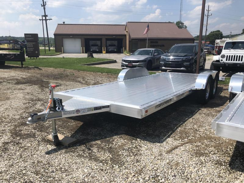 2019 18' 7K Featherlite Car Trailer. 152198