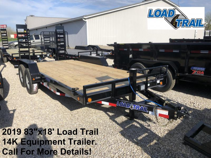 "2019 83""x18' 14K Load Trail Equipment Trailer. 86695"