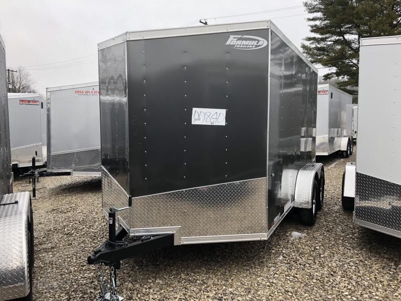 2019 7x12 7k Formula Enclosed Trailer. 840