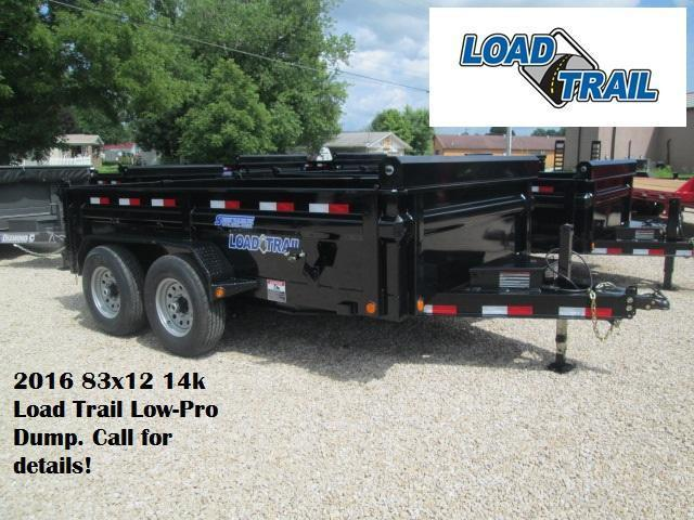 2016 83x12 14k Load Trail Low-Pro Dump. 16746