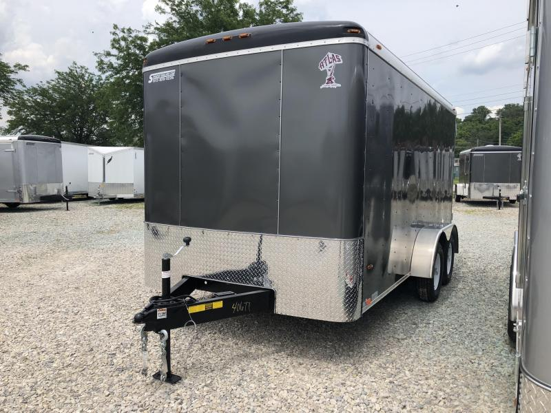 2018 7'x14' 7k Atlas Enclosed Trailer. 40677
