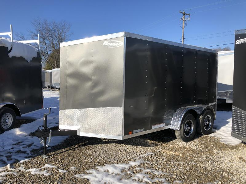 2019 7x12 7K Formula Enclosed Trailer. 00820