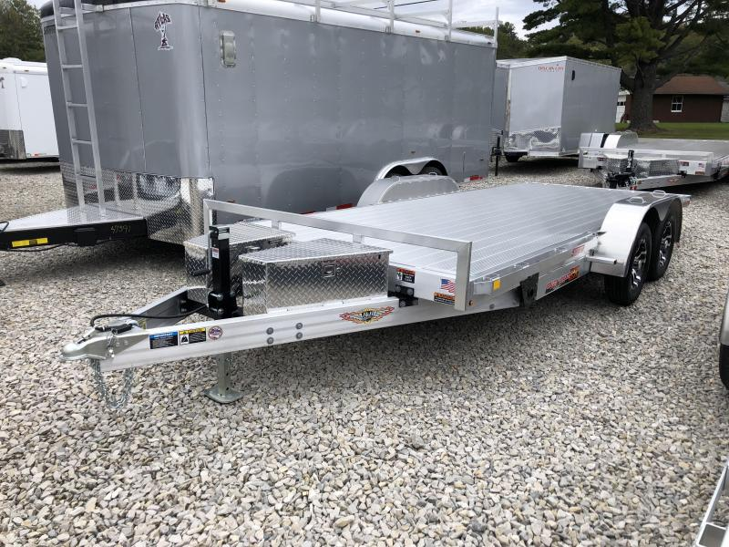2019 18x82 7K H and H Equipment Trailer. 14397