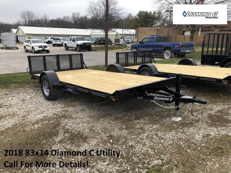 2018 83x14 Diamond C Utility. 96068
