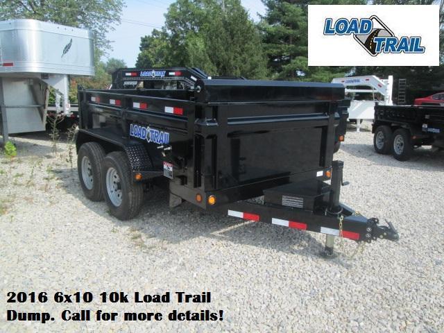 2016 6x10 10k Load Trail Dump. 92899