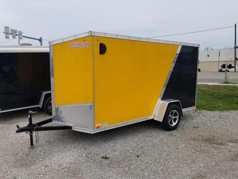 2017 Discovery Trailers Rover SE 6x10 Enclosed Cargo Enclosed Cargo Trailer