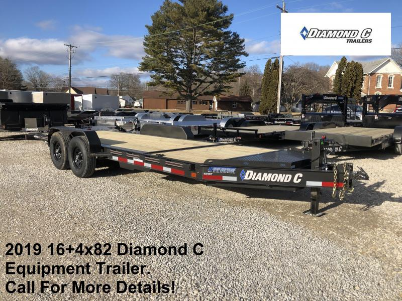 2019 16+4x82 Diamond C Equipment Trailer. 10206