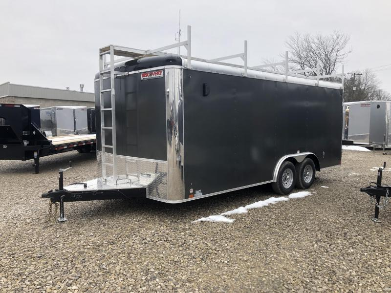 2019 8.5x18 10K Discovery Enclosed Trailer. 4100