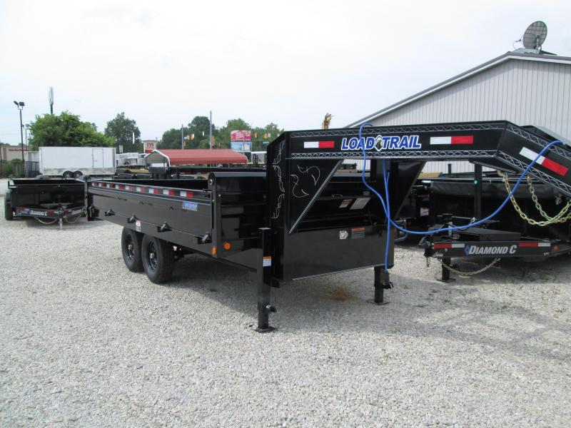 2019 96x16 14K Load Trail GN Dump Trailer. 87096