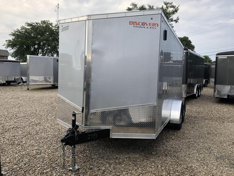 2019 7x14 7K Discovery Enclosed Cargo Trailer. 2793