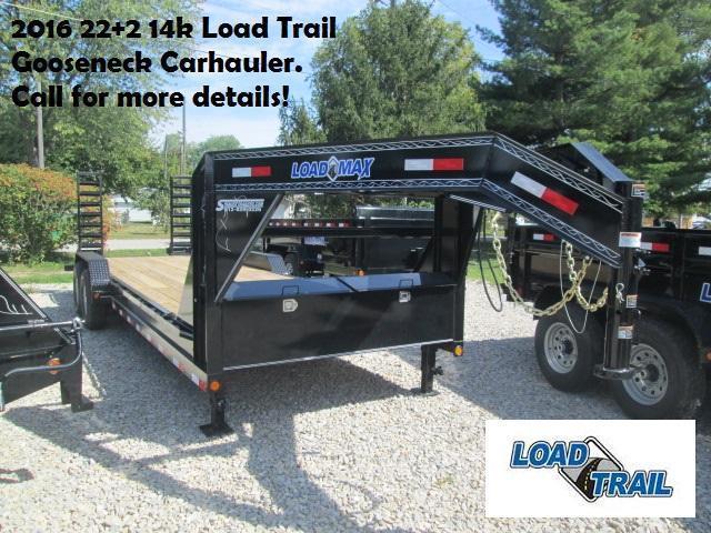 2016 22+2 14k Load Trail Gooseneck Carhauler. 93694