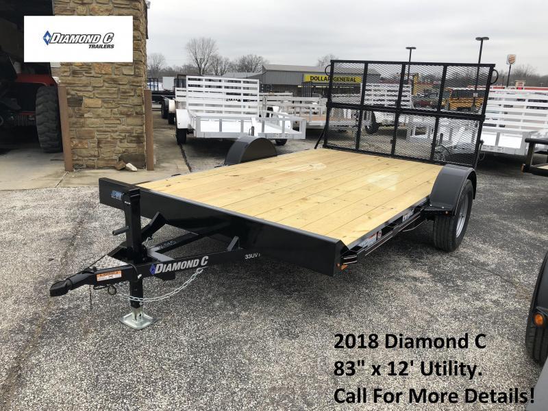 2018 83x12 Diamond C Utility. 96065